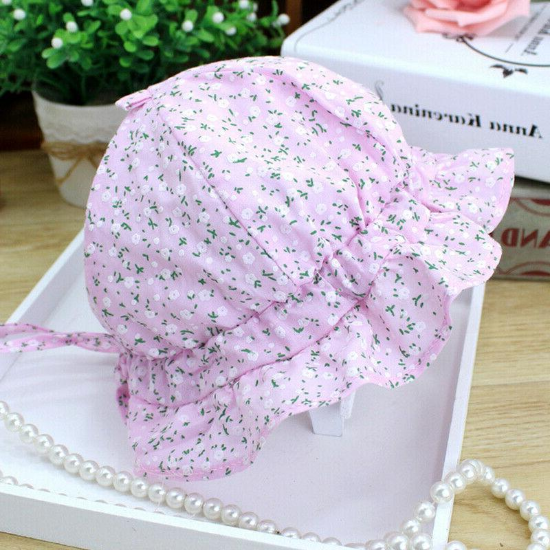 Baby Sun Hat Lace Princess Outdoor Bonnet