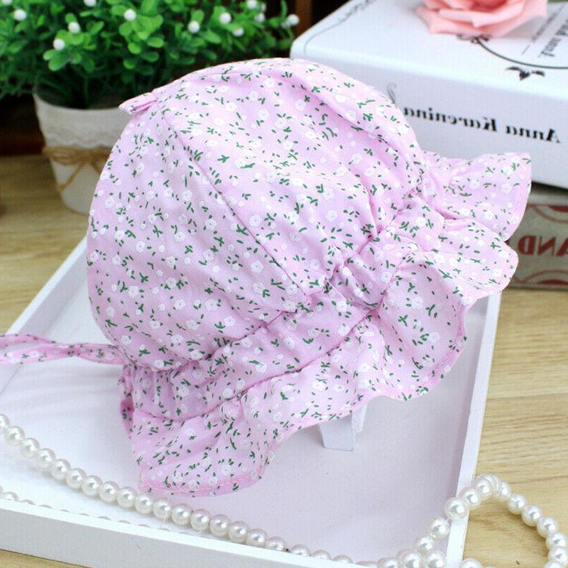 Baby Sun Hat Lace Princess Outdoor Bonnet