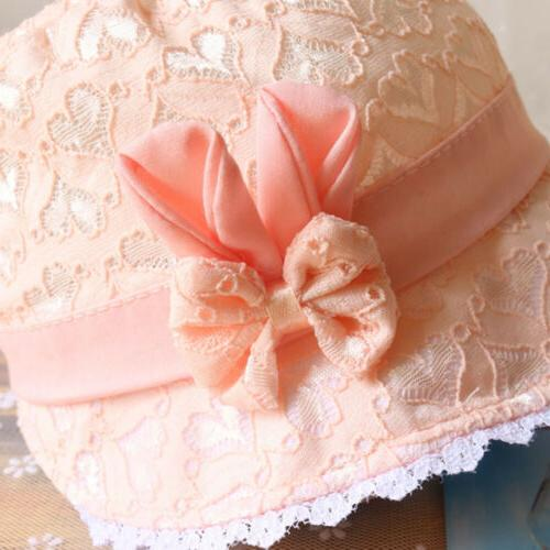 Baby Summer Hollow Hat Princess Beach Bucket 3-18