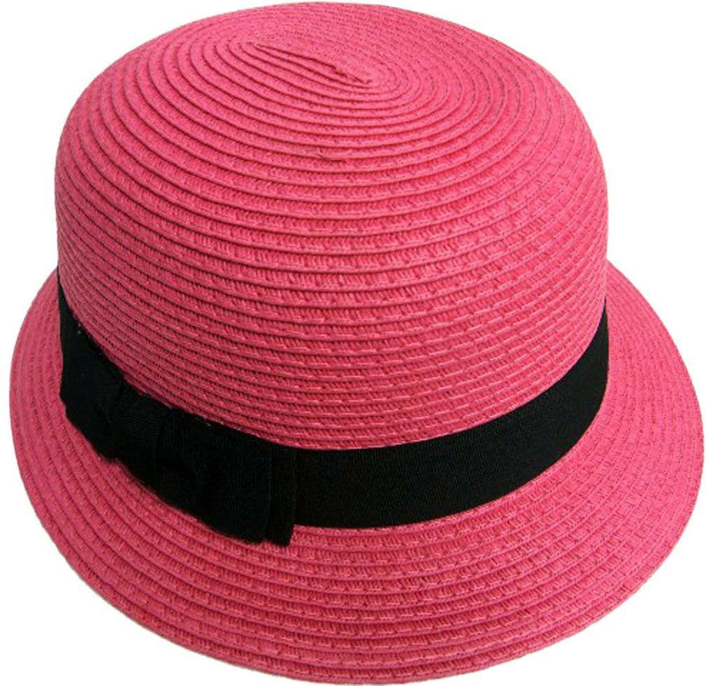 beach hats for women girls summer solid