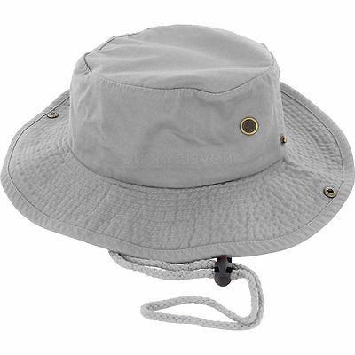 Boonie Bucket Cap 100% Cotton Hunting Safari