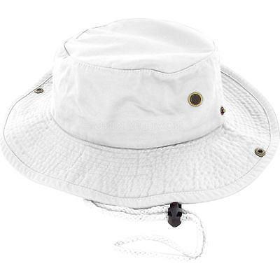 Boonie Bucket Hat Cap 100% Cotton Hunting Summer