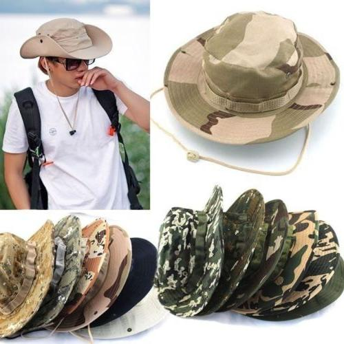 Men Women Bucket Hiking Military Cap