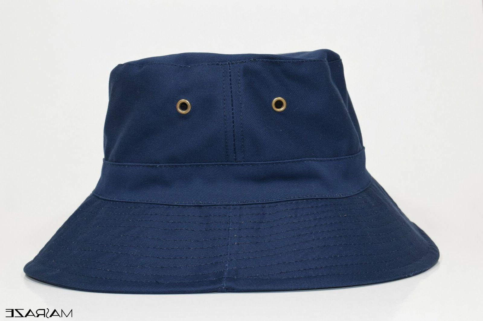boonie bucket hat cap cotton fishing brim