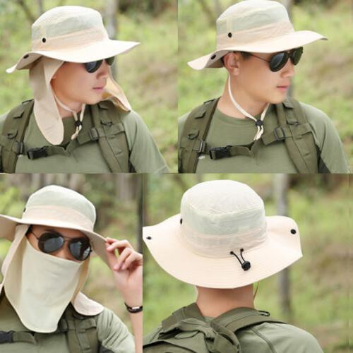 Boonie Hat Cotton Fishing Military Hunting Safari Outdoor