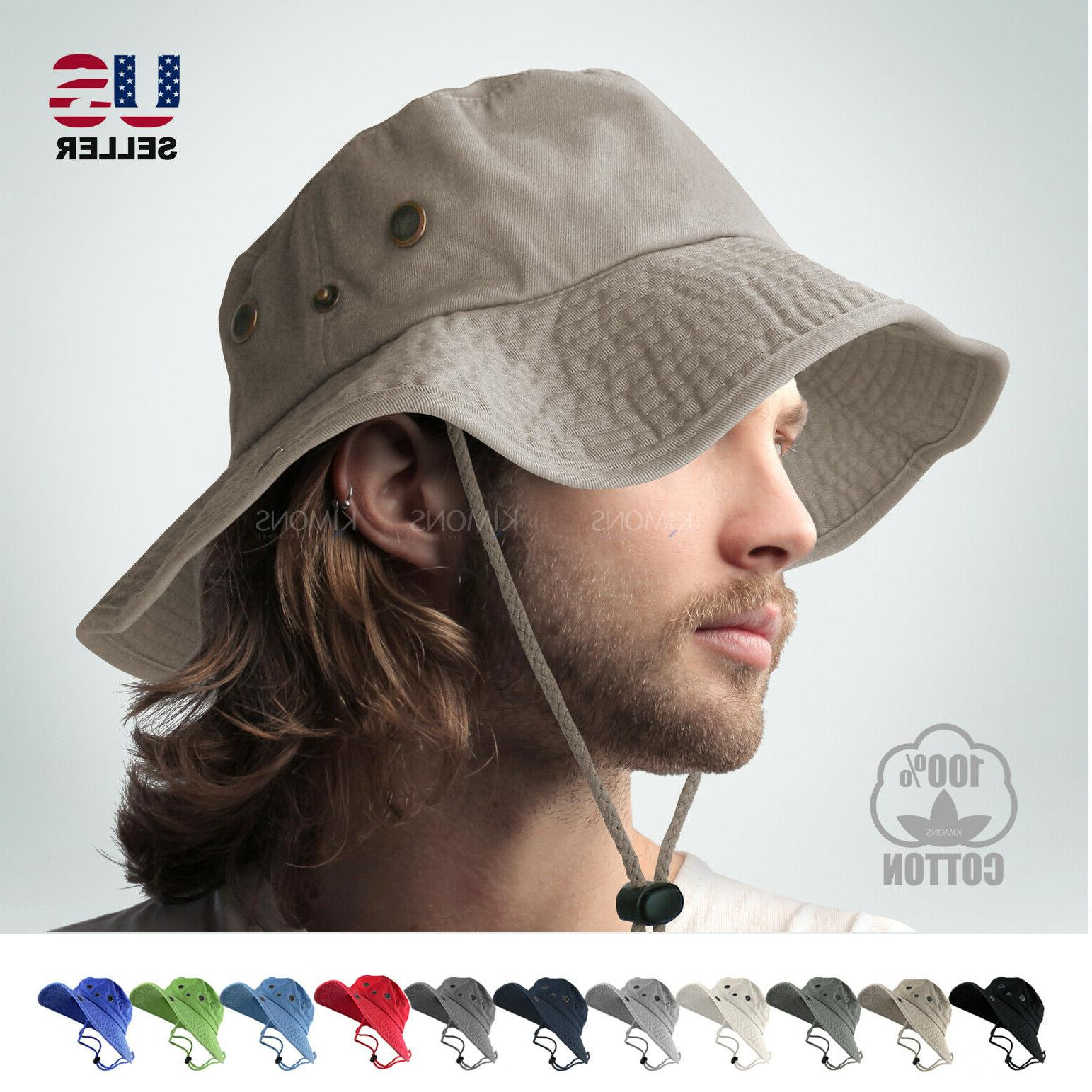 boonie bucket hat military fishing camping hunting