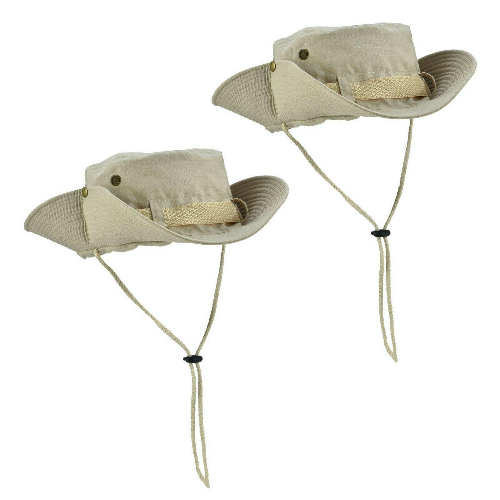 Boonie Bucket Hats Fishing Hunting Mesh Camo Cap