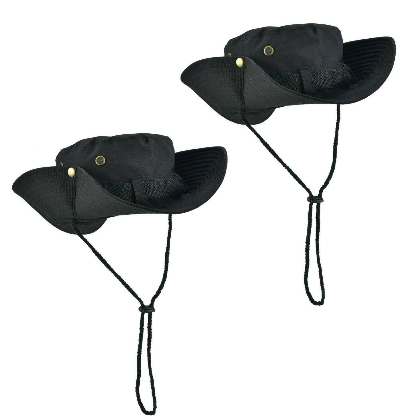 Boonie Bucket Outdoor Fishing Wide Mesh Camo Safari Cap