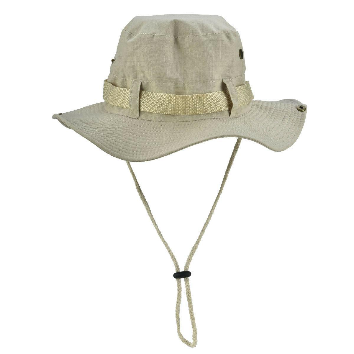 Boonie Bucket Fishing Hunting Wide Mesh Cap