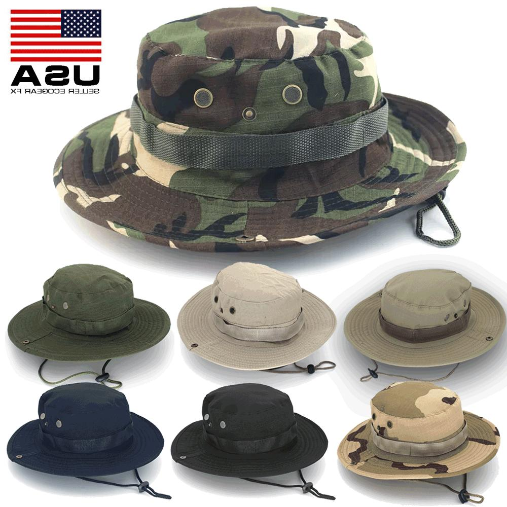 boonie bucket hats outdoor fishing hunting wide