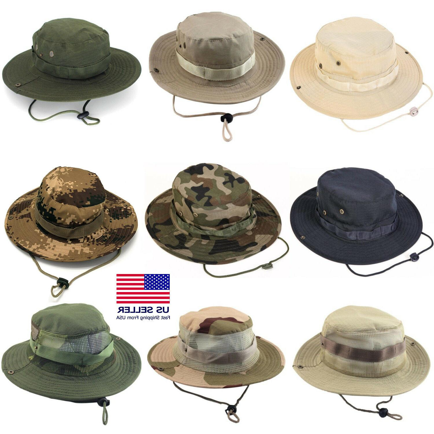 boonie bucket hats outdoor fishing hunting wide