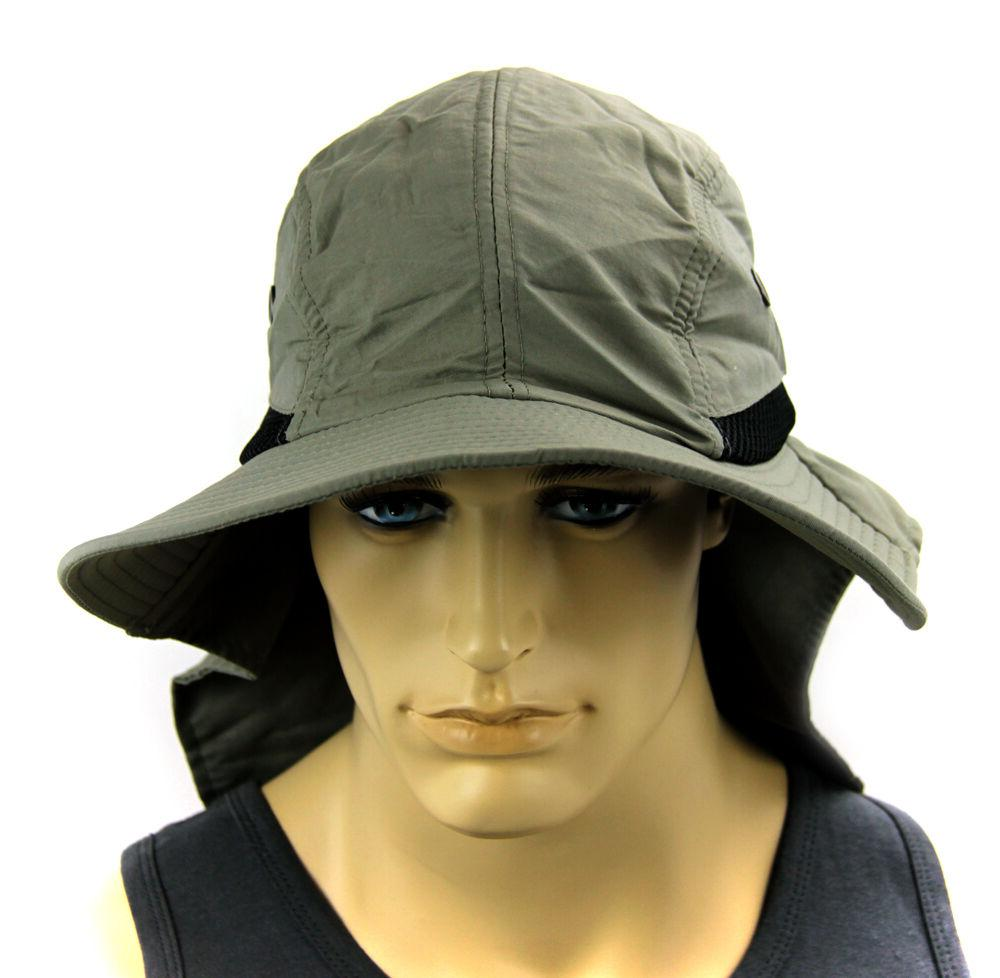 Boonie Cap Bucket hat Cover Sun material-Olive