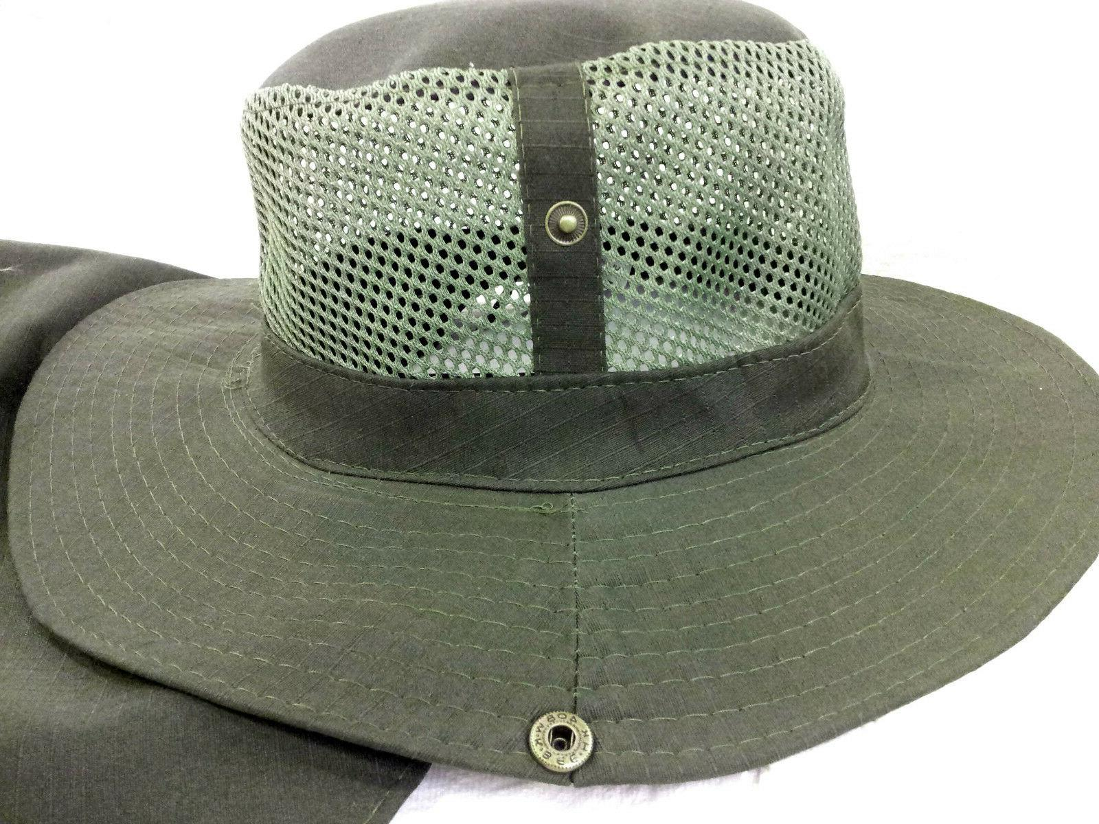 Boonie Army Military Long Mesh Cover
