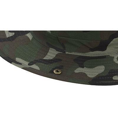 Boonie Fishing Military Brim Neck Cover Bucket Sun Hat Cap