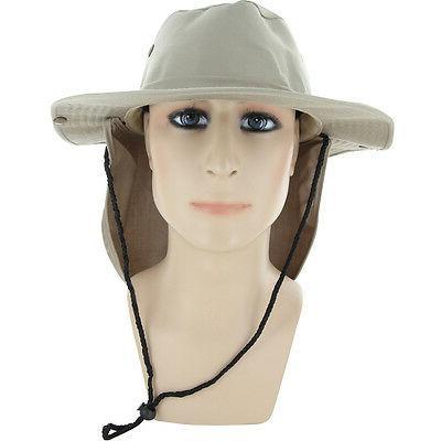 Boonie Military Brim Cover Flap Hat