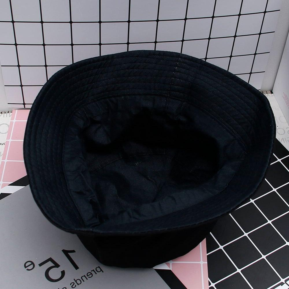 Boonie Flat Fishman <font><b>Hat</b></font> Summer Black <font><b>Bucket</b></font> Sad Fishing Panama