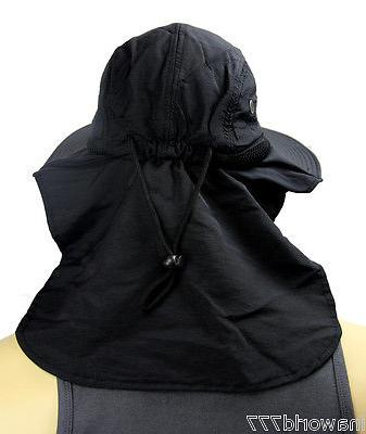 Boonie hat cap Flap Bucket hat Ear Neck Cover Material -