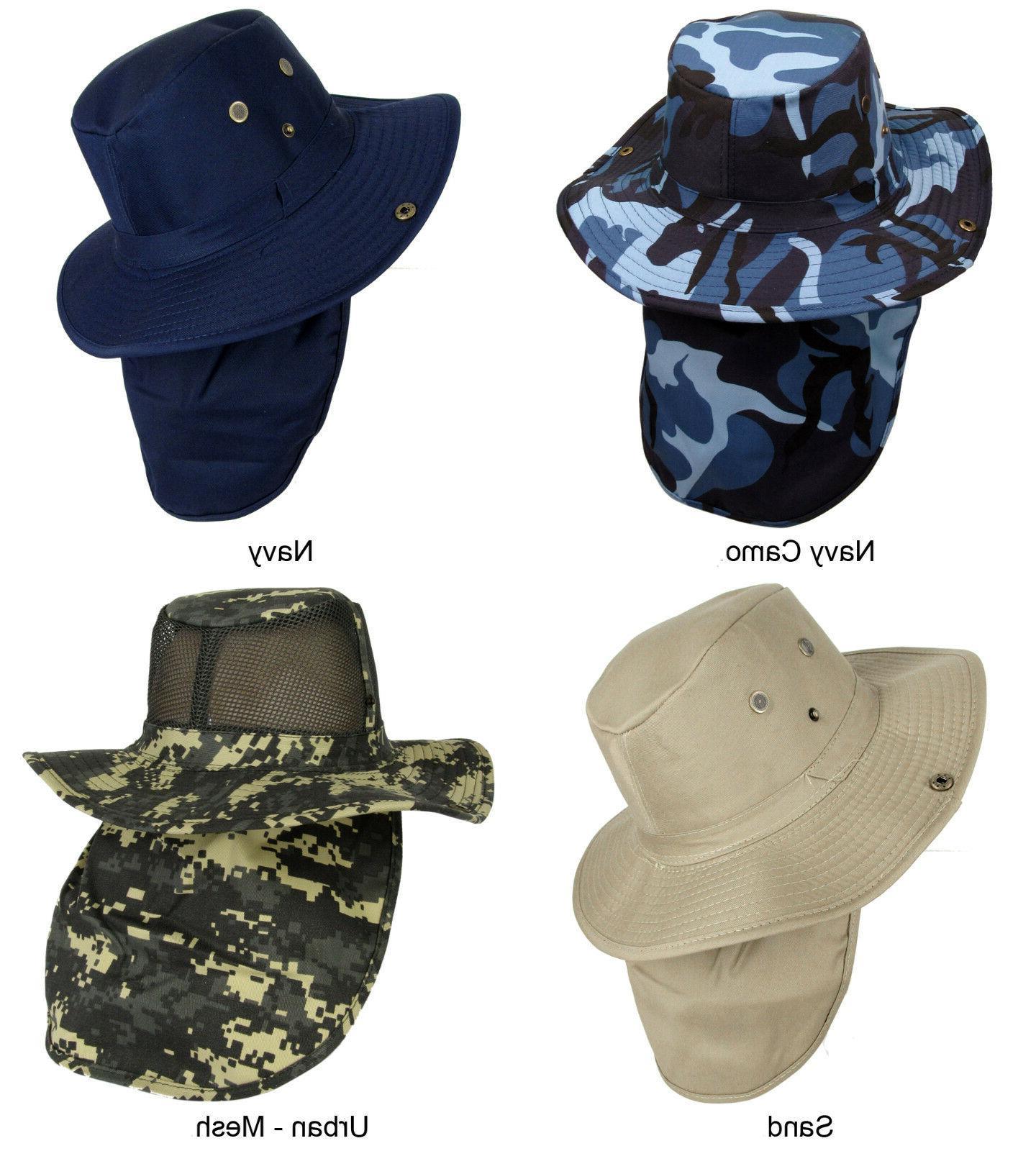 4bd5389b1c2 Boonie Military Brim Neck Cover Flap. Boonie Hat Fishing ...