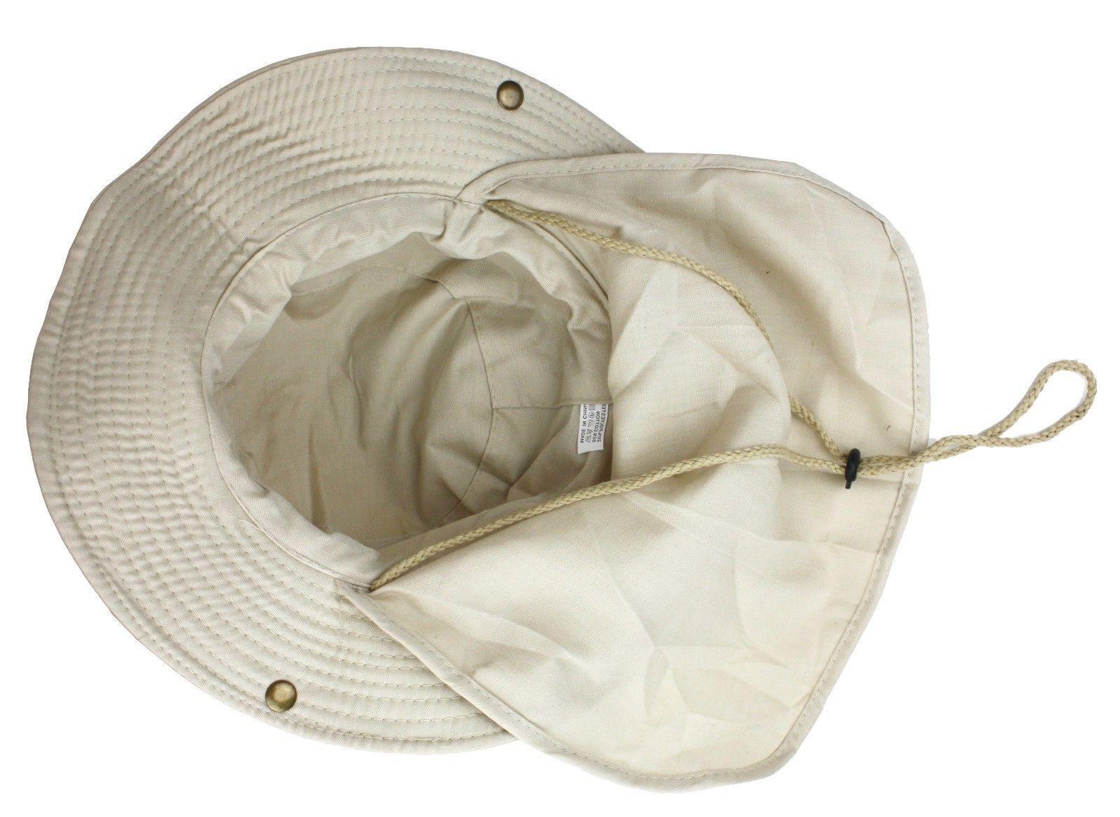Boonie Flap Hat Sun Summer Cap Men