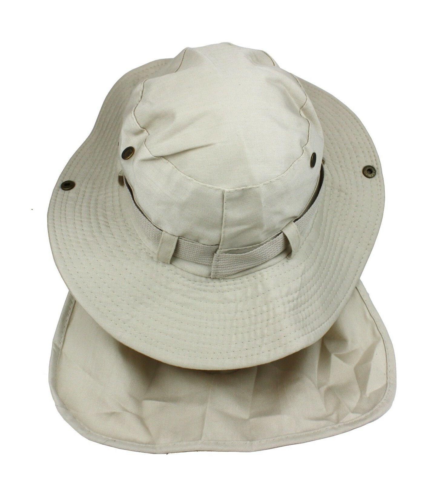 Boonie Neck Hat Summer Wide Brim Bucket Cap Women