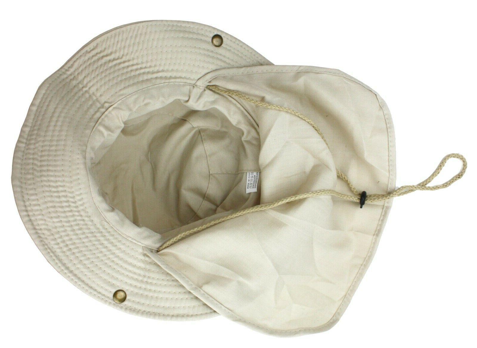 Boonie Neck Summer Bucket Cap Men