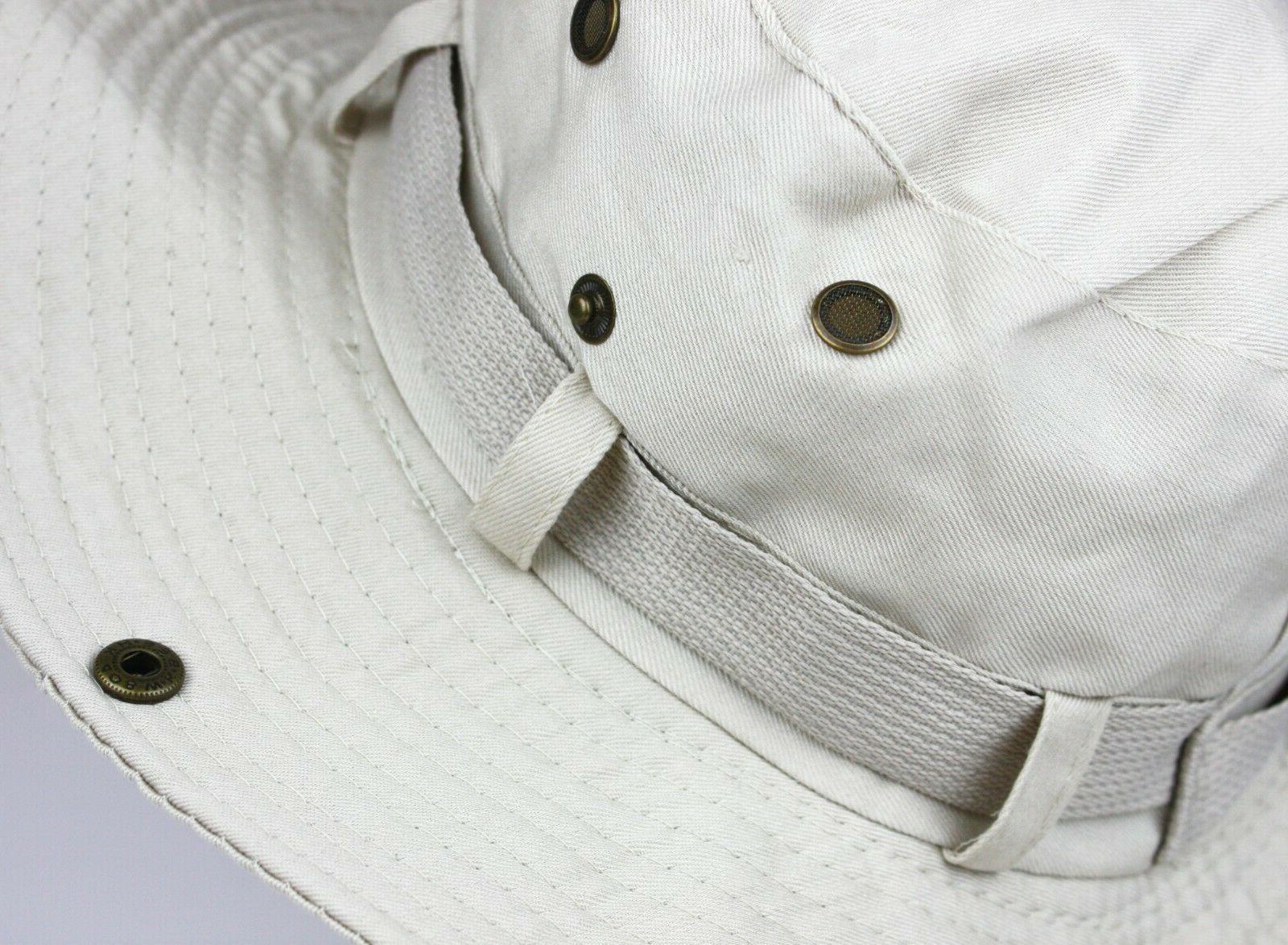 Boonie Hat Sun Summer Brim Cap Men