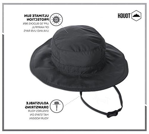 Boonie for & - Sun Protection - Summer Hat. Waterproof Fishing, & Adventures. Wicking Cool