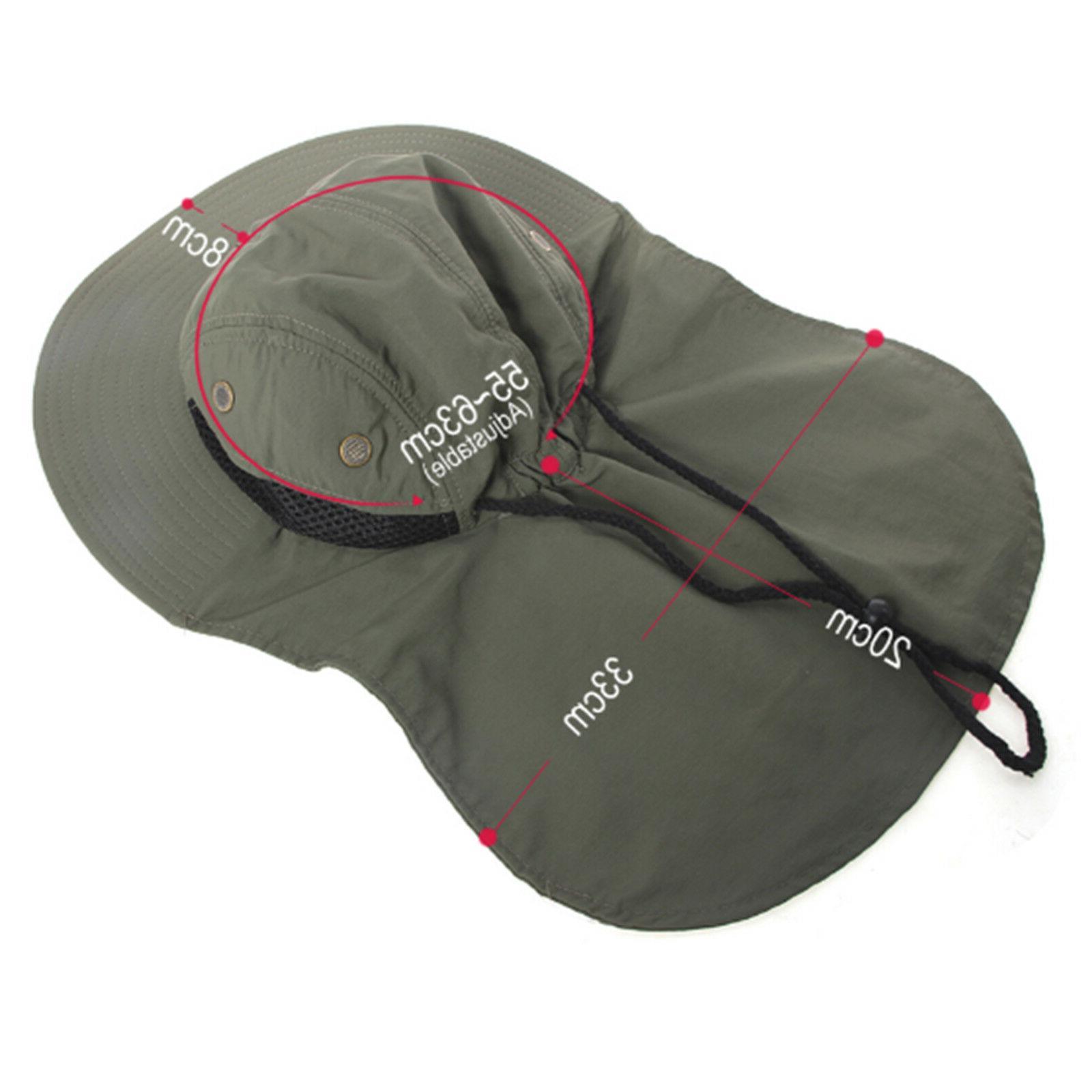 Boonie for Men Wide Ear Neck Sun Bucket Hats Outdoors