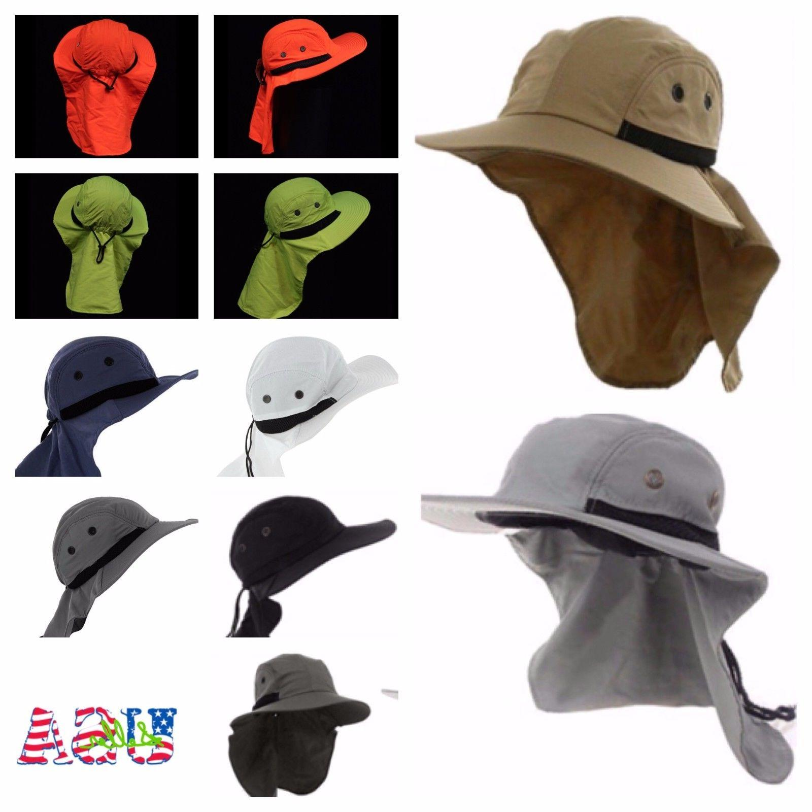 Boonie Snap Hat Ear Neck Cover Flap Hunting Hiking Bucket
