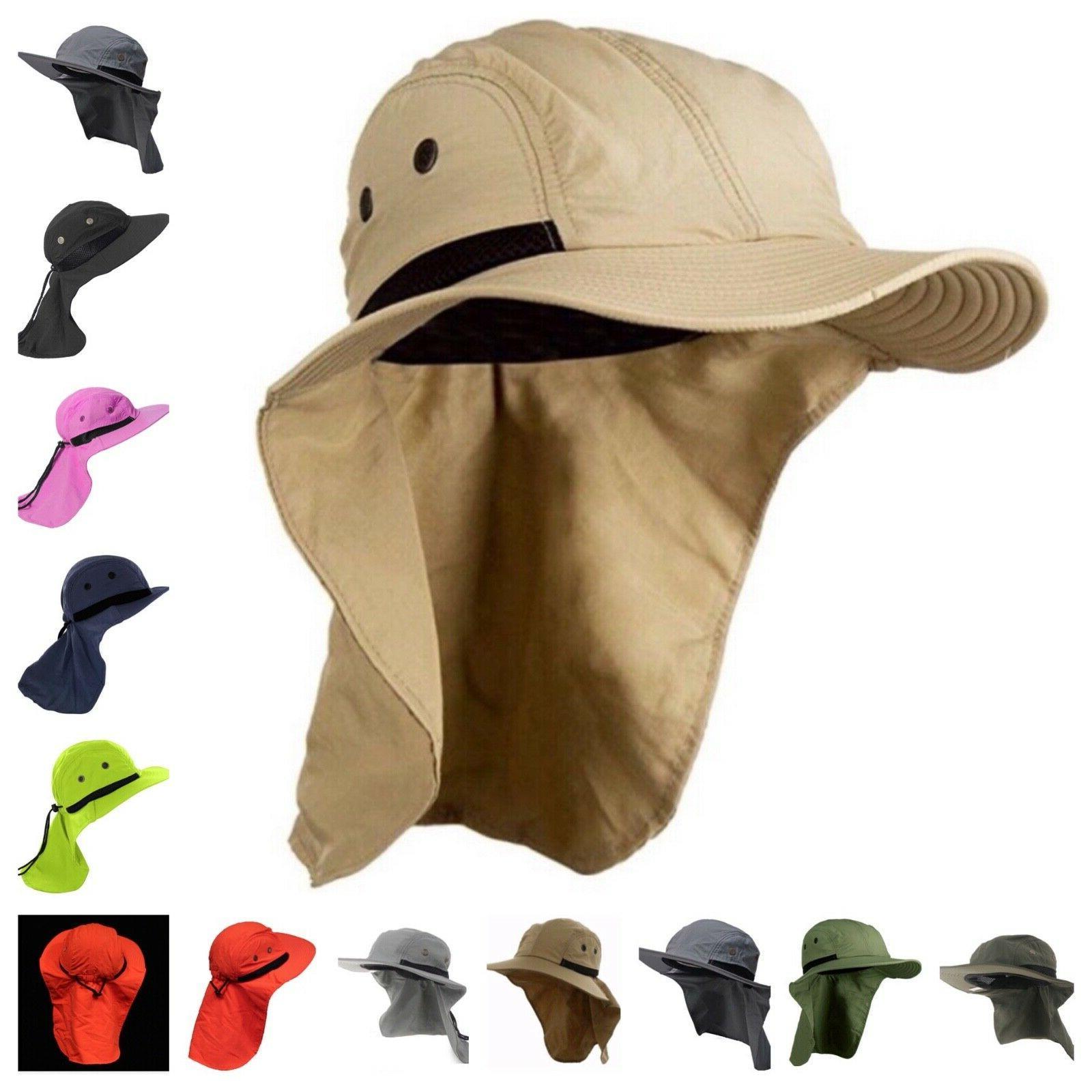 Boonie Snap Hat Ear Neck Flap Cap Garden