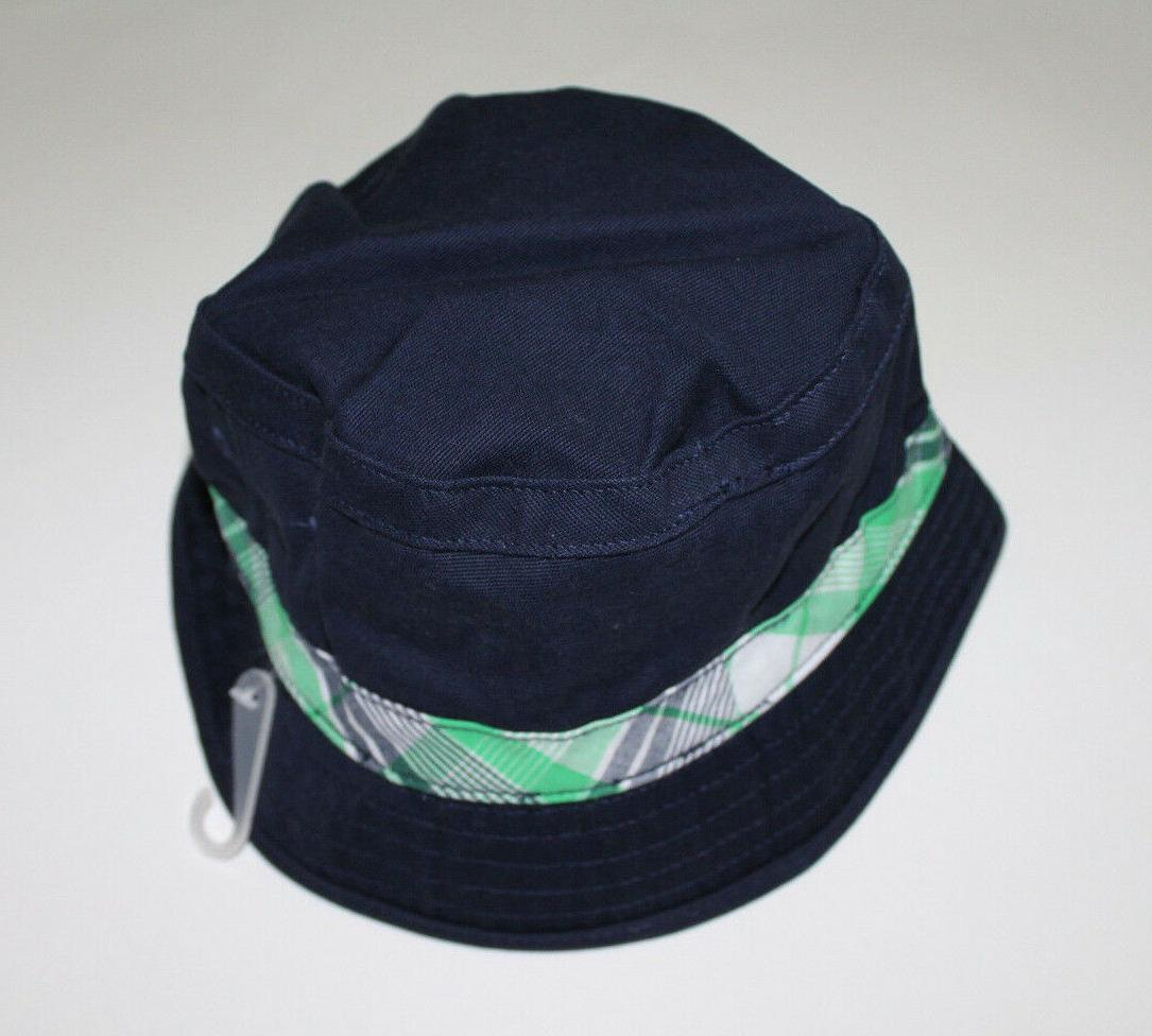 Gymboree Plaid Bucket Hat Size 6-12 Mos.2T-3T,4T-5T