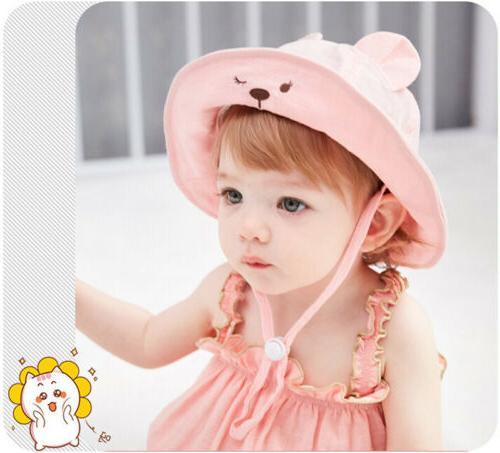 Wide Brim Hats Kids Baby Sun