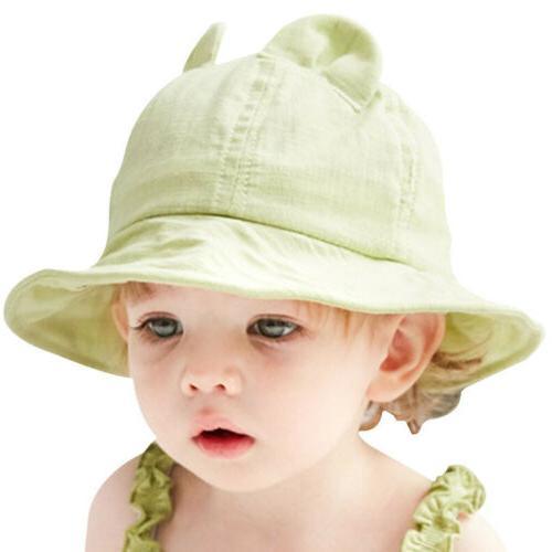 Boys Bucket Hat Wide Brim Baby Sun