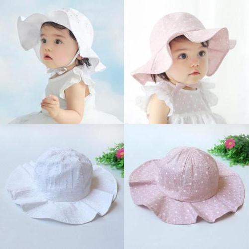 Hat Wide Kids Baby Beach