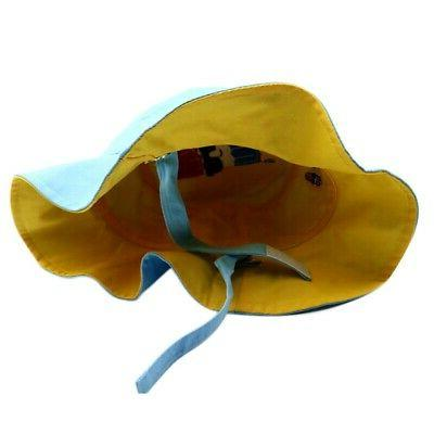 Kids Toddler Bucket Girls Reversible Headwear US