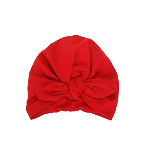 boys girls winter solid color knit hat