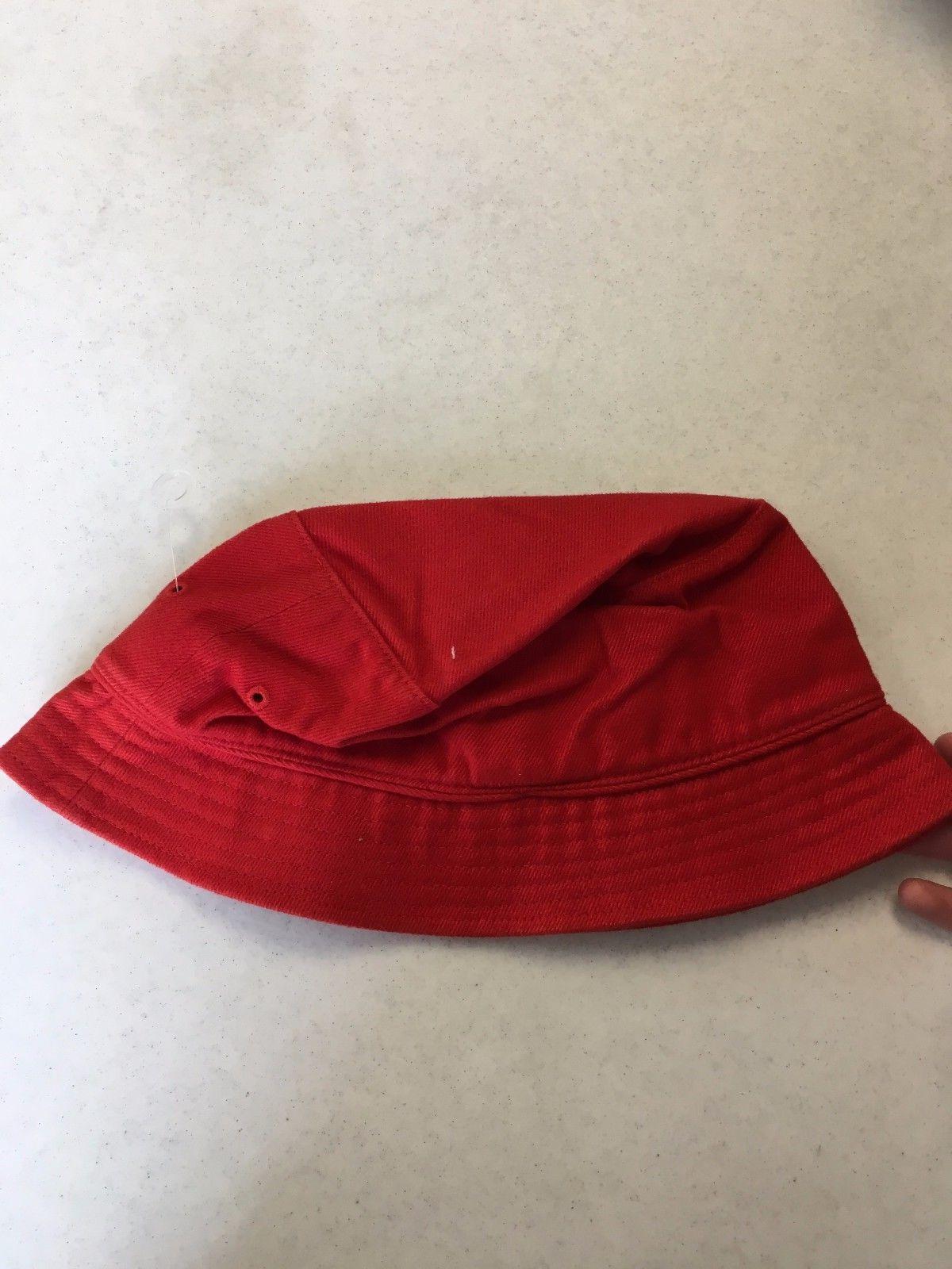 BRAND ADIDAS RED SQUARE BUCKET SMALL/MEDIUM FREE