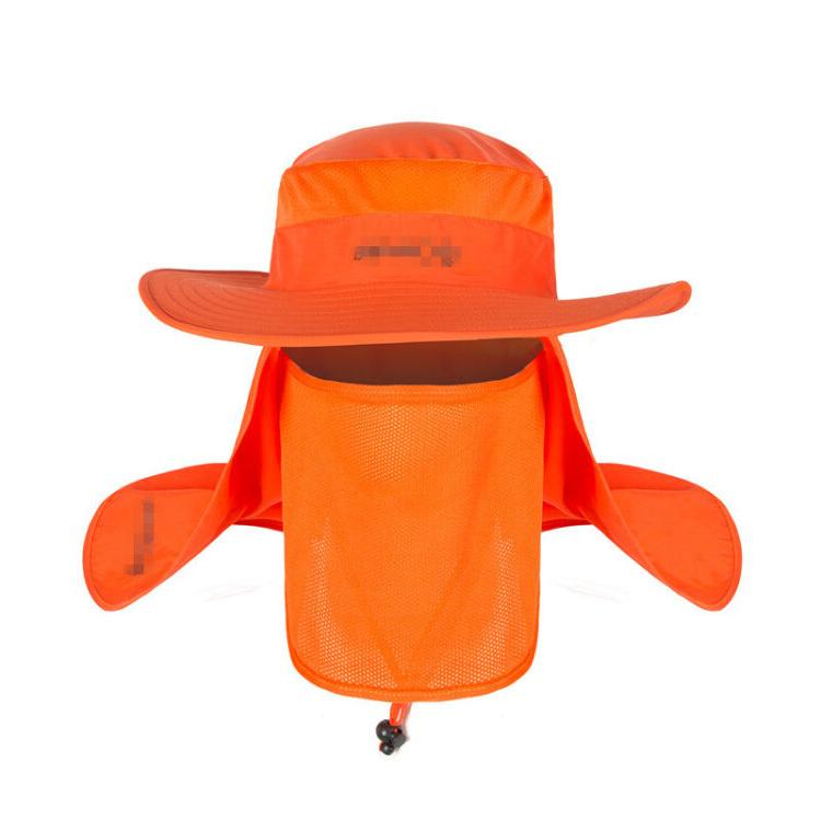 Brim Quick Drying Cap Unisex Climbing Bucket Hat