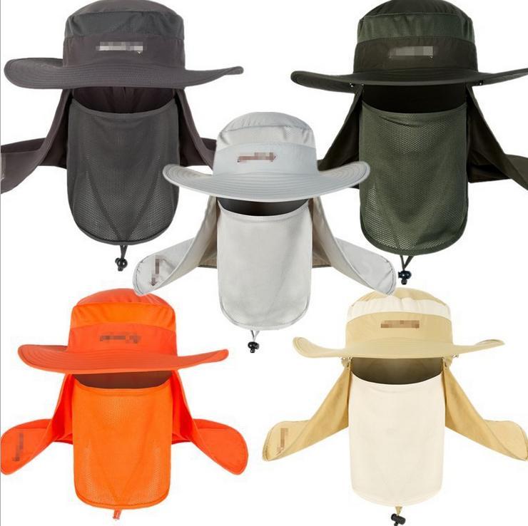 Brim Boonie Quick Drying Fishing Cap Unisex Climbing Bucket Hat