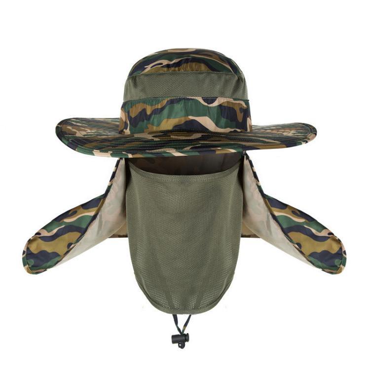 Brim Drying Outdoor Sun Cap Unisex Climbing Hat