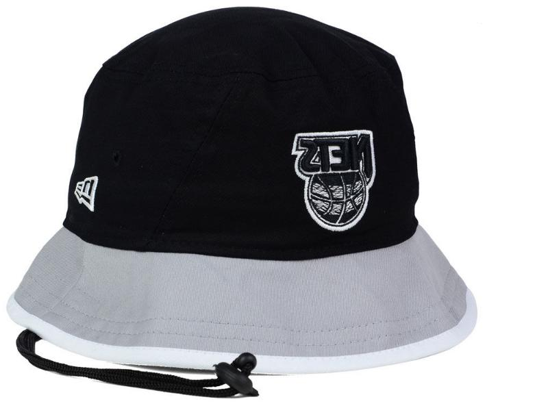 brooklyn nets black top bucket cap hat