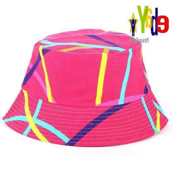 Bucket Cap Man Unisex Cotton Hat Bob Cool