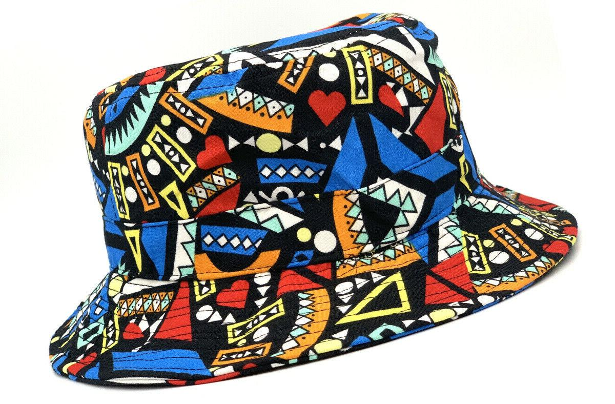 KB Bucket Fashion Print Hat New Easy SIZE