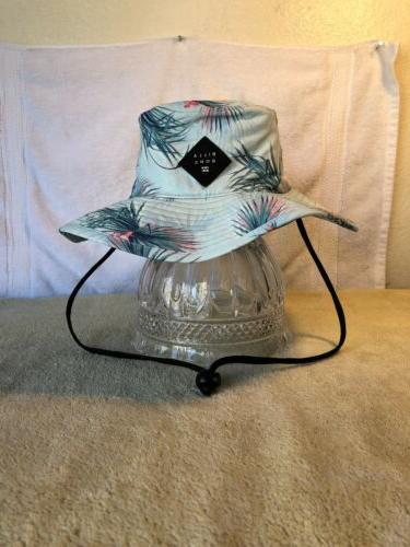 bucket floppy safari hat new blue