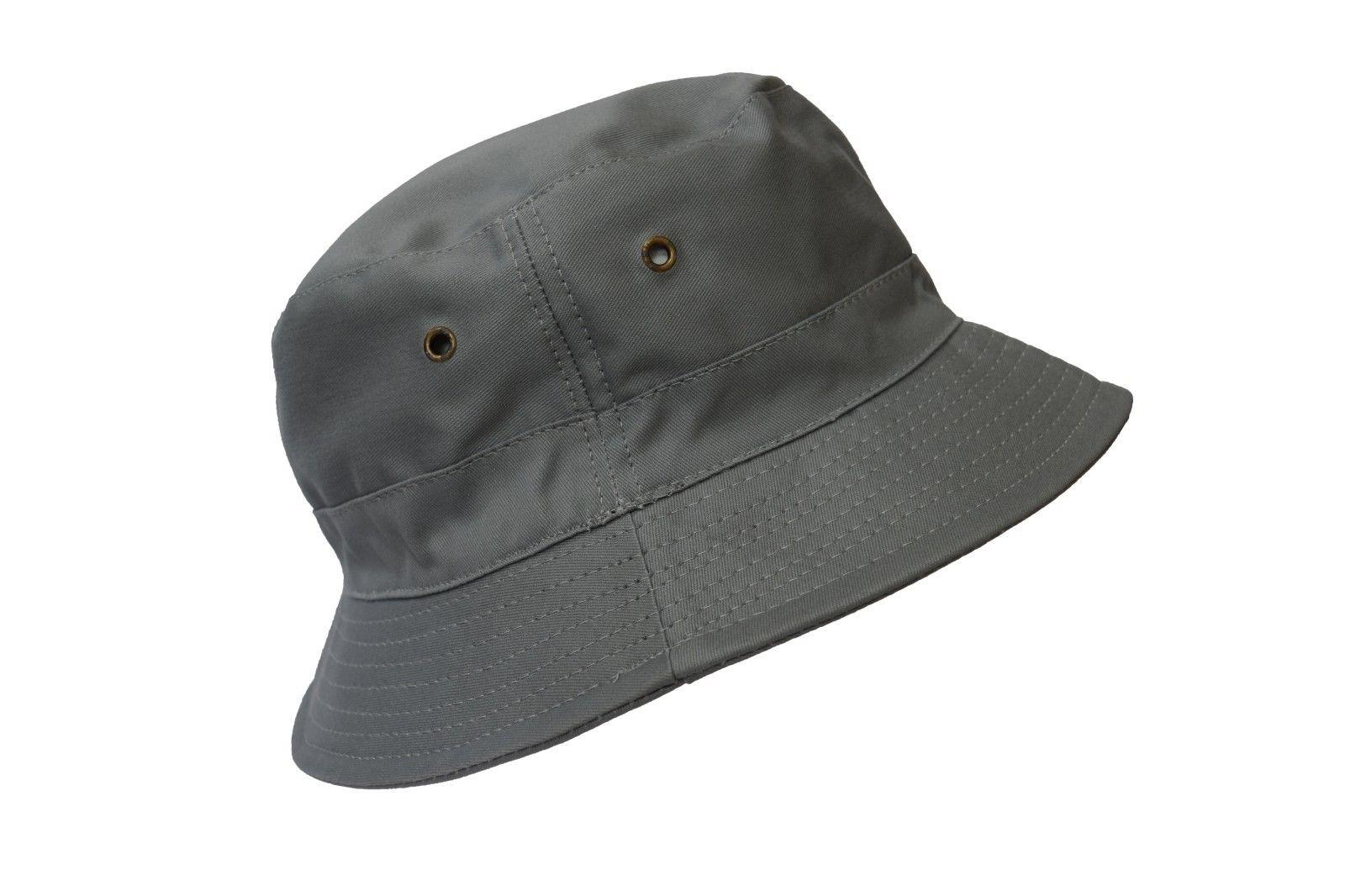 772fc1285e2 Editorial Pick Bucket Hat 2 INCH Boonie Cap Cotton Fishing Hunting Safari S