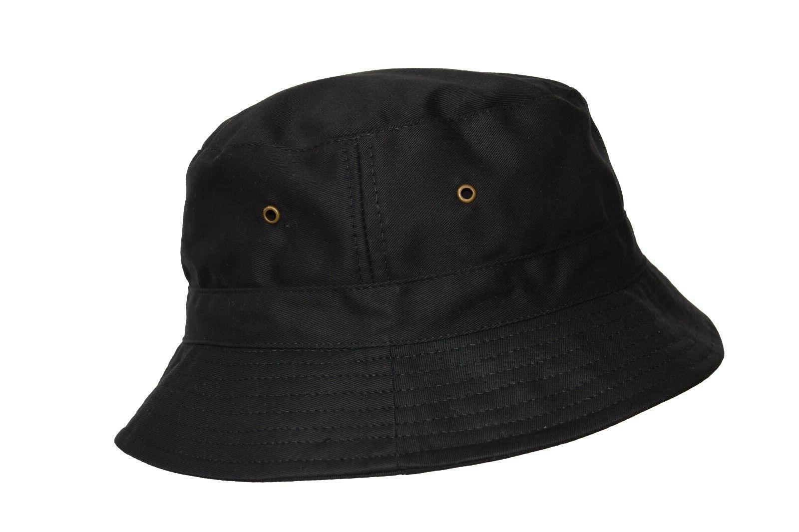 Bucket Hat 2 INCH Boonie Cotton Hunting Safari Sun women