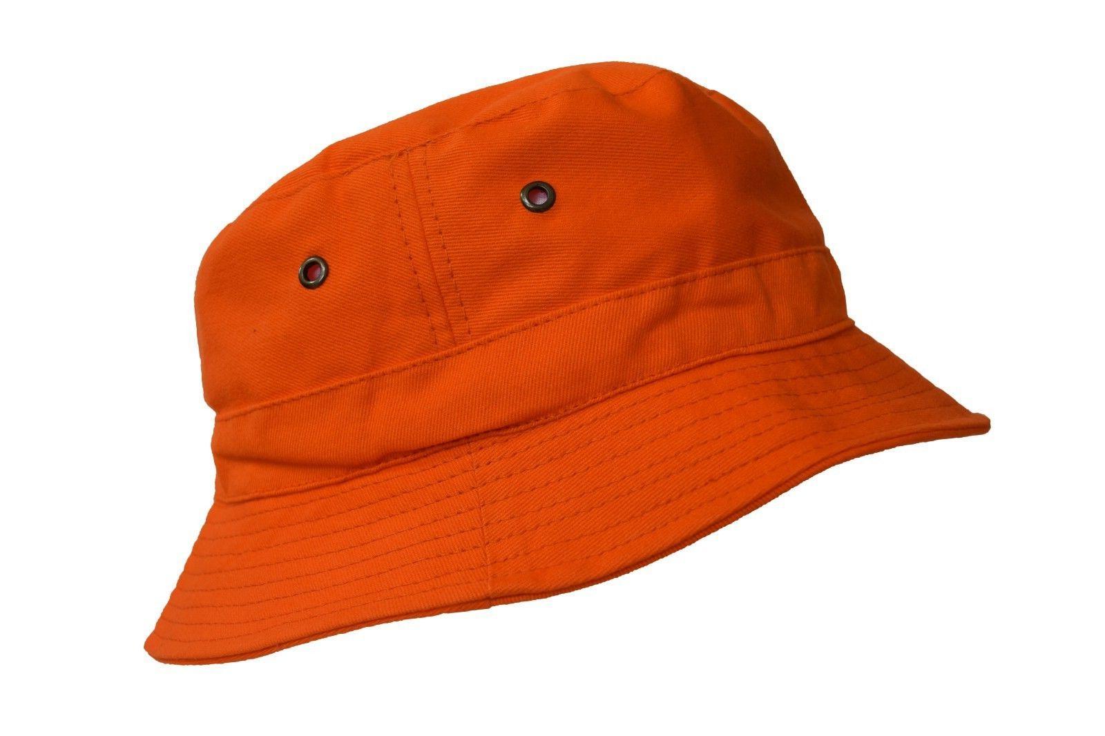 d95b1172406 Bucket Hat 2 INCH Boonie Cap Cotton Fish.