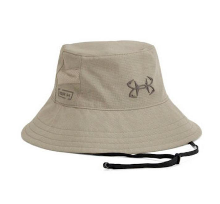 bucket hat armourvent coolswitch thermocline city khaki