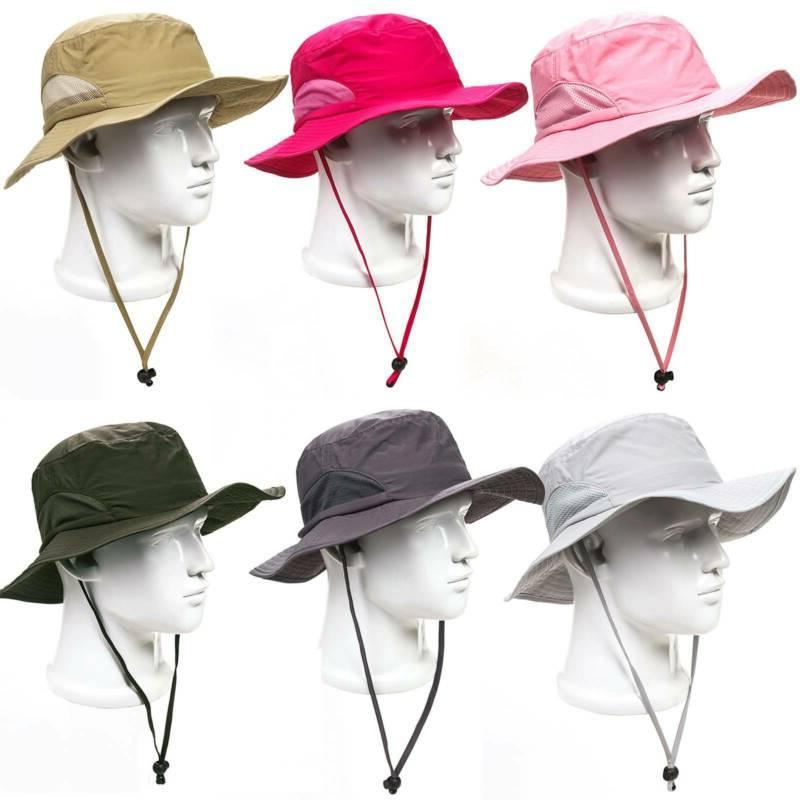 Bucket Hat Boonie Hunting Sun Cap Women