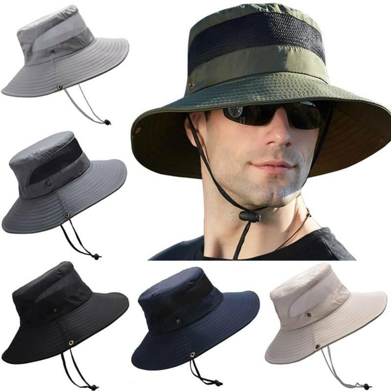 Bucket Hat Hunting Fishing Sun Cap Women